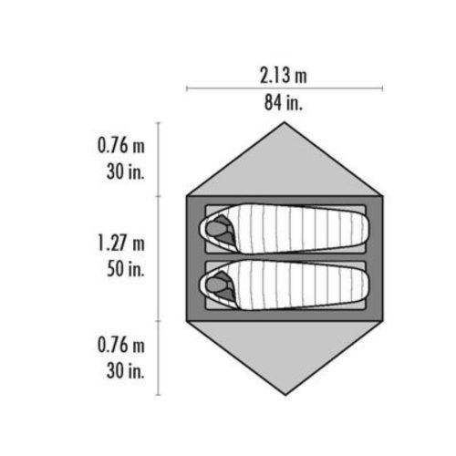 MSR Hubba Hubba NX 2 PersonTent