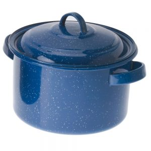 GSI Enamelware 4qt Stock Pot