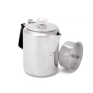 GSI Stainless 9 Cup Coffee Pot