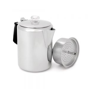 GSI Stainless 12 Cup Coffee Pot