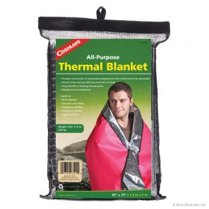 Coghlan's Thermal Space Blanket