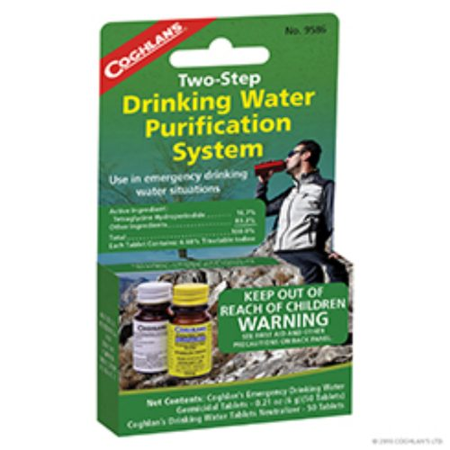 Coghlan's 2 Step Water Treatment