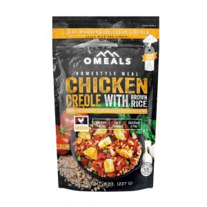 Omeals Self Heating Freeze Dried Food