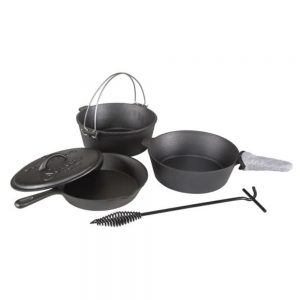 Stansport 6 pc Cook Set