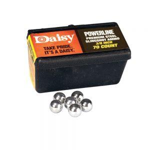 """Daisy 3/8"""" Steel Slingshot Ammo"""