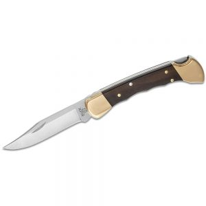 Buck Hunter Finger Groove Folding Knife