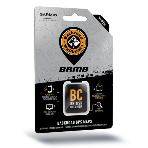 BC Backroad GPS Maps SD Card