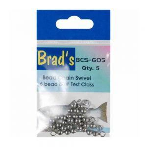 Brad's Beadchain 6-Bead 5 Pack