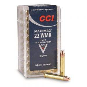 CCI Maxi-Mag TMJ 22 Win.Mag Ammunition