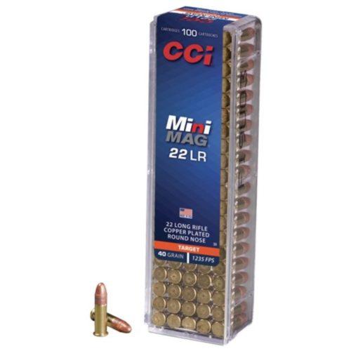CCI Target Mini Mag 22 L/R Ammunition