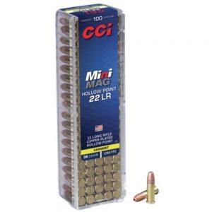 CCI Mini-Mag 22 L/R Ammunition