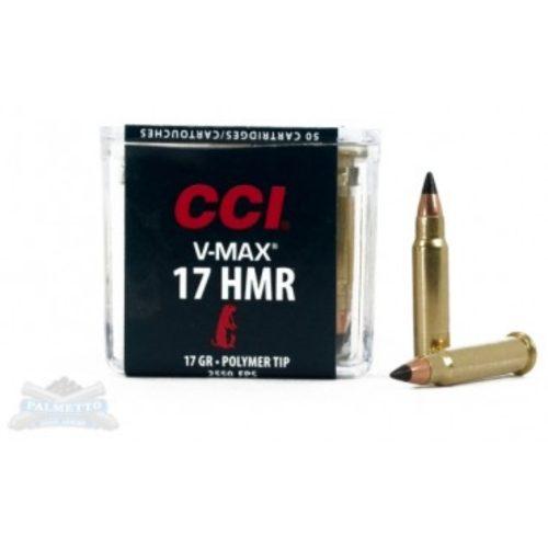 CCI V-Max 17 HMR Ammunition