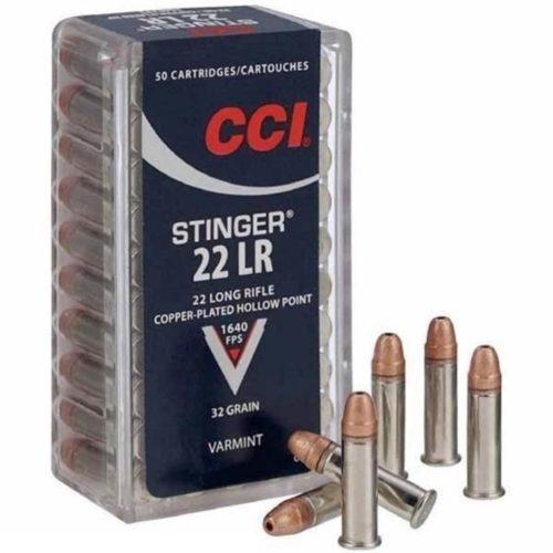 CCI Stinger 22 L/R Ammuintion