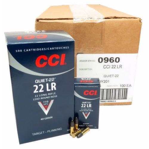 CCI Quiet-22 22 L/R Ammunition