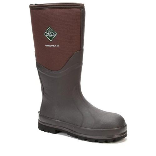 Muck Unisex Chore Cool Safety Toe Boot