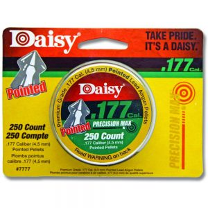 Daisy .177 Cal Pointed Pellets 250pk