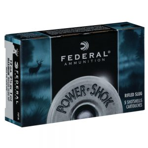 Federal Power-Shok 12ga Rifled Slugs