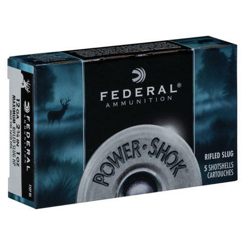 Federal Power-Shok 12ga Rifled Slugs