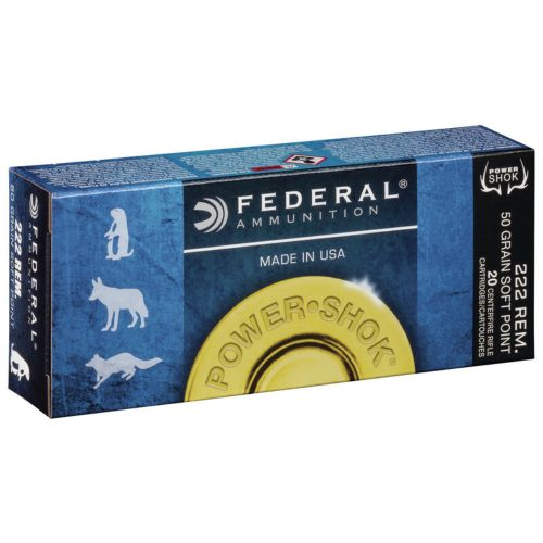 Federal Power-Shok Rifle Ammunition