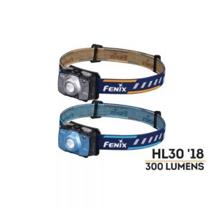 Fenix HL30 300 Lumens Headlamp Grey
