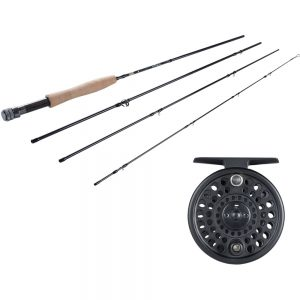 Fenwick Nighthawk 4pc Fly Rod/Reel Combo