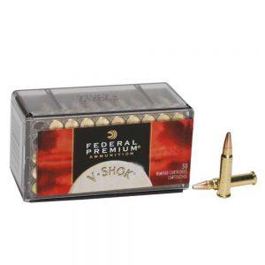 Federal V-Shok 17 HMR Ammunition