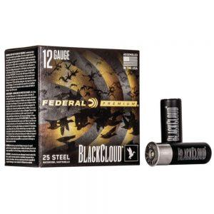 Federal Black Cloud FS Steel 12ga Shotshells