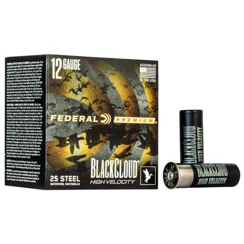 Federal Black Cloud FS Steel High Velocity 12ga Shotshells