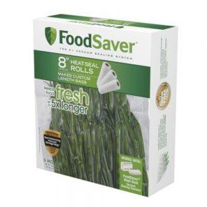 Foodsaver Vacumm Sealer Bags 2 Rolls