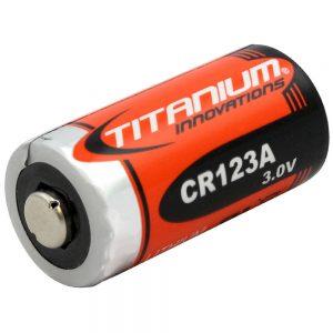 Fenix Titanium CR123 Double Stack
