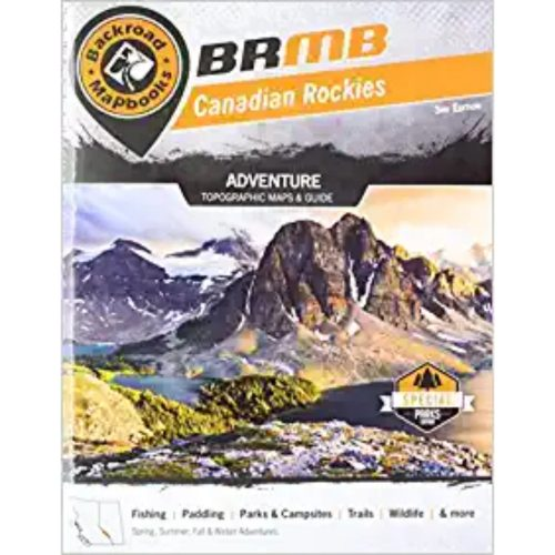 Backroad Mapbook Canadian Rockies