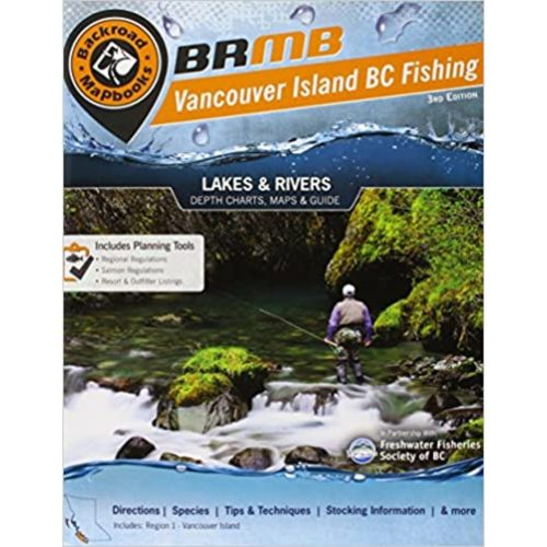 Backroad Fishing Mapbook Vancouver Island