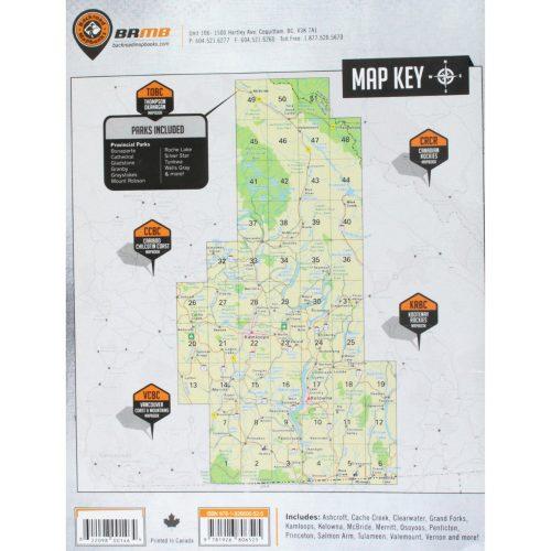 Backroad Mapbook Thompson/Okanogon
