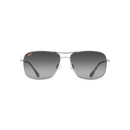 Maui Jim Grey Wiki Wiki Silver Sunglasses