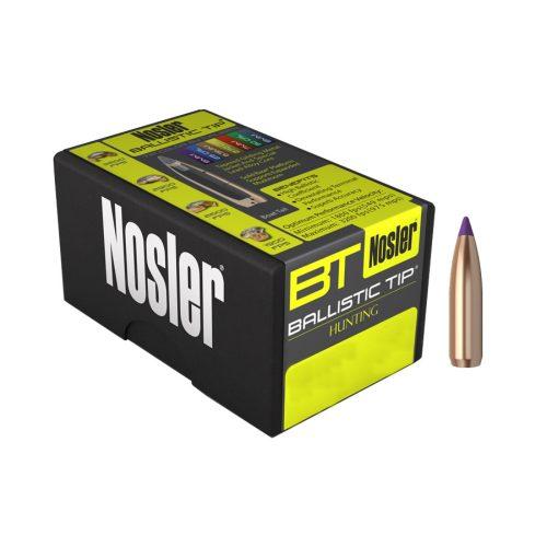Nosler Ballistic Tip Hunting Boat Tail Bullets