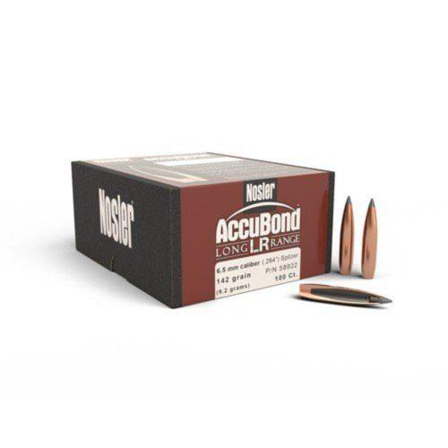 Nosler Accubond Long Range Boat Tail Bullets