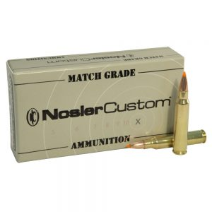 Nosler Match Grade Rifle Ammunition