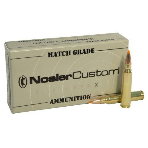 Nosler Match Grade Rifle Ammunition