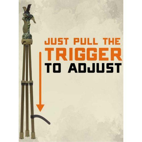 Primos Tripod Trigger Stick Gen3