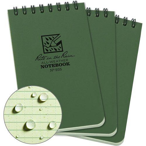 Rite in the Rain Notebook 3x5