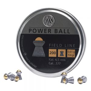 RWS .177 Cal Power Ball Pellets 200pk