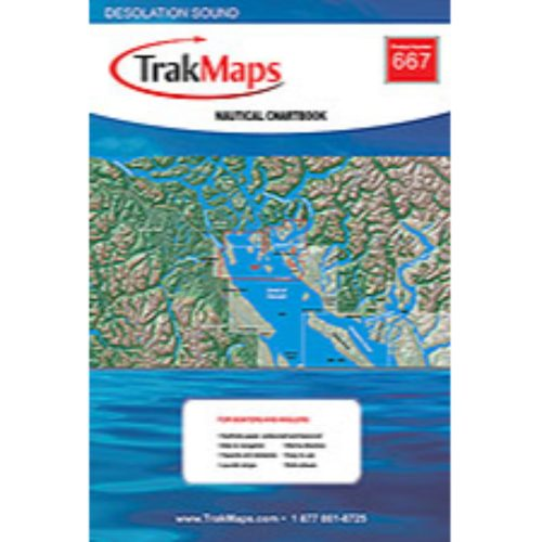 TrakMaps Desolation Sound