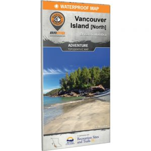 Backroads Vancouver Island North Map