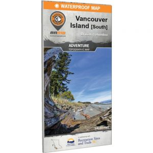 Backroads Vancouver Island South Map