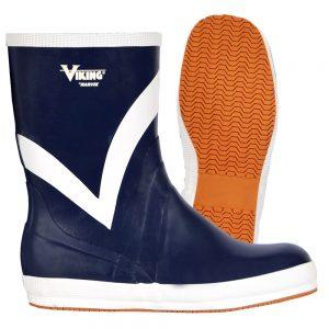 """Viking Mariner 10"""" Blue Yachting Boot"""