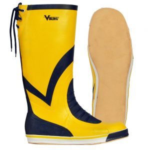 Viking Yellow Yachting Boot