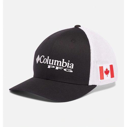 Columbia PFG Canada Flag Ball Cap