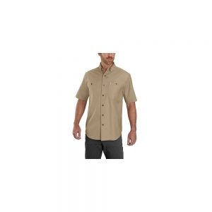 Carhartt Men's Rigby Work Short Sleeve Shirt