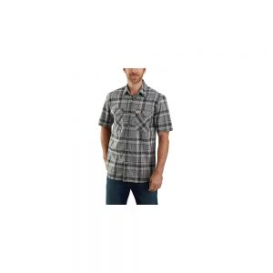 Carhartt Men's Rugged Flex Snap Short Sleeve Shirt