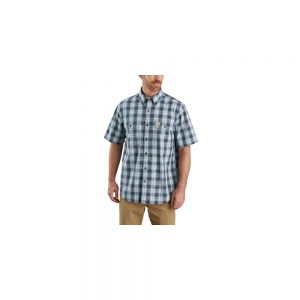 Carhartt Men's Original Fit Button Short Sleeve Shirt